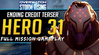 Overwatch NEW Hero Teaser! Full Story and playthrough Storm Rising Archives Event