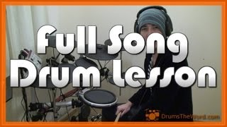 ★ Lithium (Nirvana) ★ Drum Lesson PREVIEW | How To Play Song (Dave Grohl)