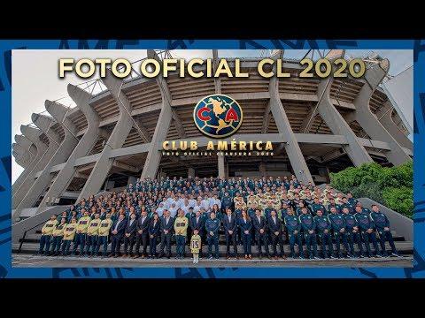 Detrás de cámaras Foto Oficial Club América clausura 2020 estadio Azteca