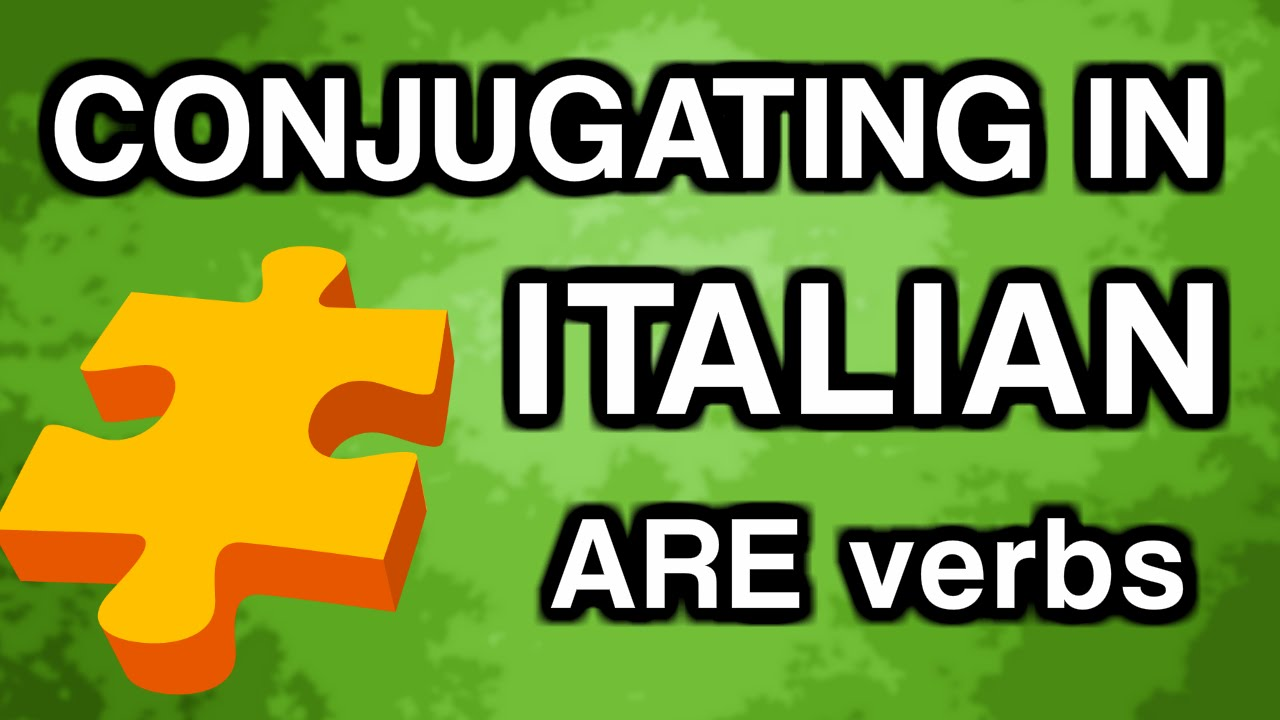 Learn Italian Conjugation With Ouino Are Verbs Present Tense Youtube