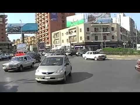 Roundabout madness in Tripoli Lebanon