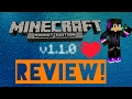 MCPE 1.1.0 Review!! Must watch! (°0°)