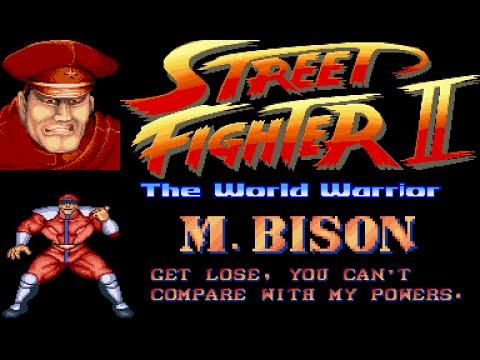 Street Fighter II World Warrior + BOSS HACK + M.Bison