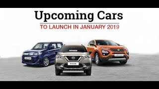 Upcoming Car Launches in January 2019 - Autoportal
