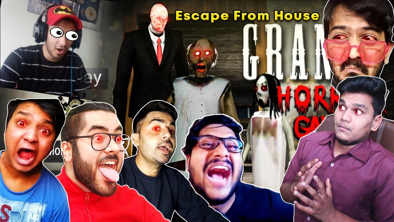 Indian Gamers React To Escape From Granny House |Beastboyshub,Hitesh ks,Total Gaming|