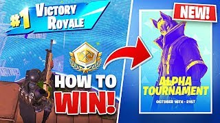 How I WON The NEW Fortnite Solo Tournament!