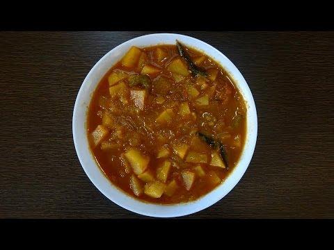 aloo-tomato-gravy-curry-in-telugu(బంగాళాదుంప-టమాటా-కూర)