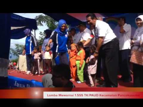Lomba Mewarnai PAUD/TK se Kecamatan Poncokusumo di Gubugklakah