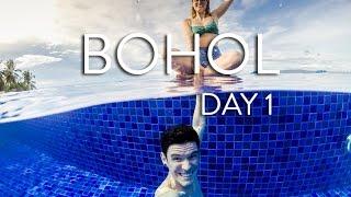 bohol   panglao   hinagdanan cave   the bellevue resort   vlog day 1 the philippines