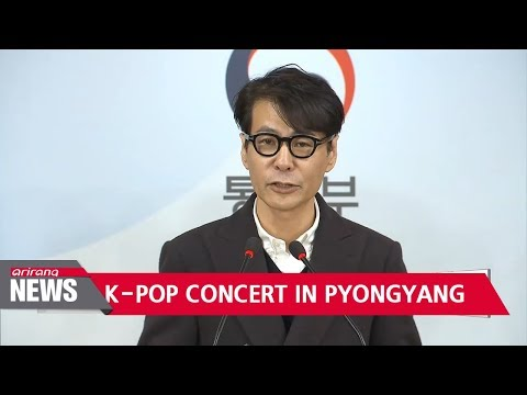 North Korea agrees to hold South Korean pop concerts in April
