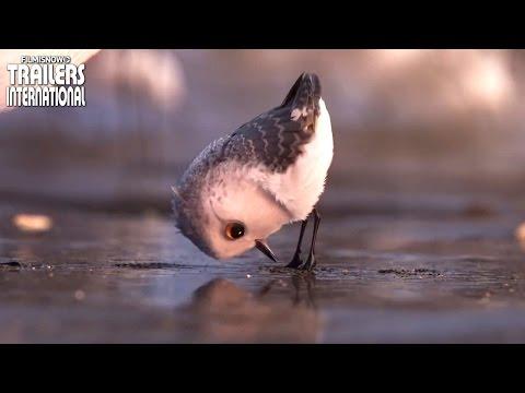 Procurando Dory | Clipe 'Curta Piper' [animação da Disney] HD