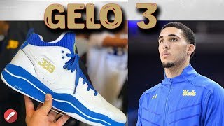 Big Baller Brand BBB Liangelo Ball First Sig! Gelo 3 Initial Thoughts!