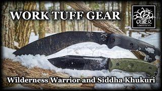 Work Tuff Gear Wilderness Warrior and Siddha Khukuri: Teaming Up for My Shelter Build Tasks!