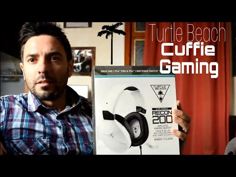 Turtle Beach RECON 200 CUFFIE Gaming Headset AMPLIFICATE - REVIEW & TEST -