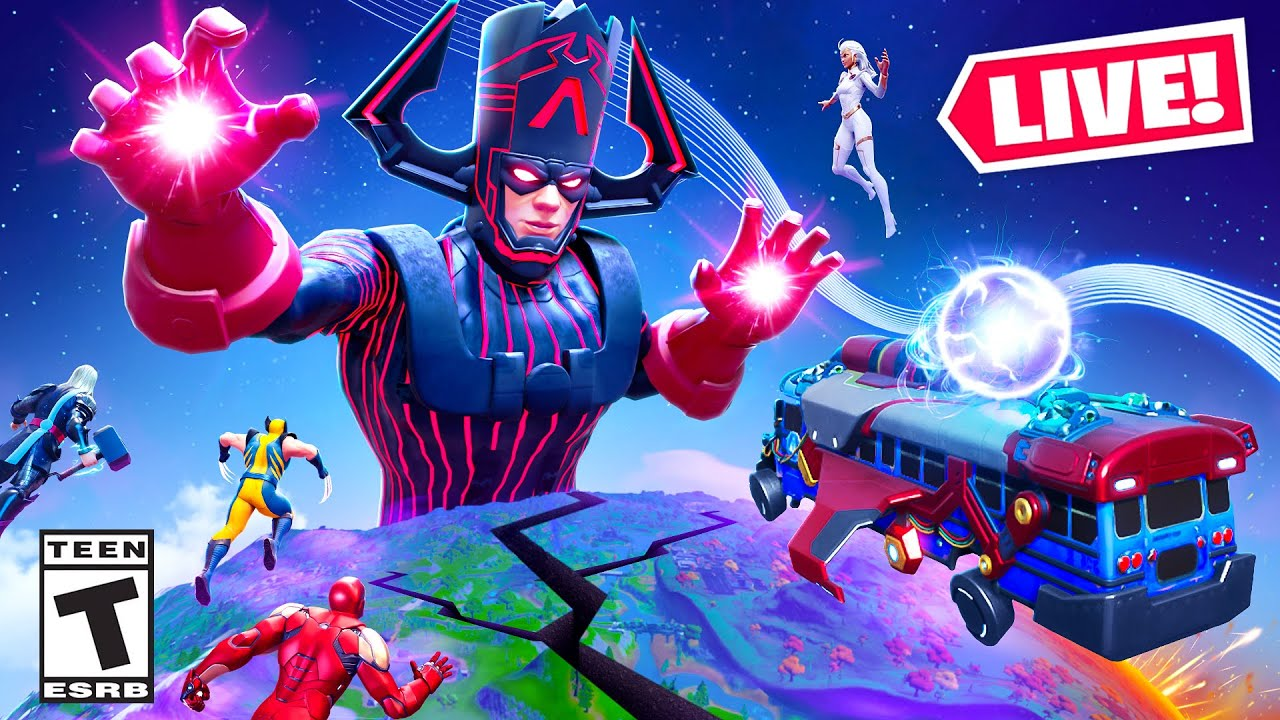 Download Fortnite GALACTUS *LIVE* EVENT! (FULL EVENT)