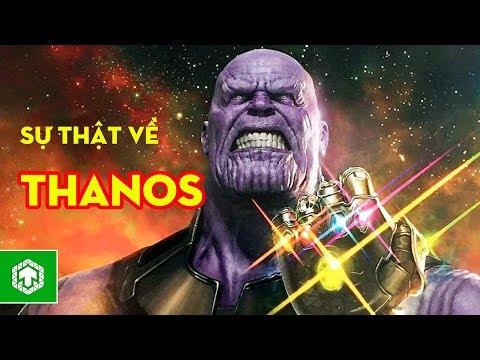 Top 10 sự thật thú vị về Thanos   Siêu ác nhân Marvel   Ten Tickers