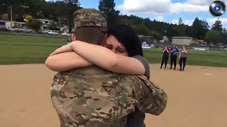 Soldiers Coming Home Surprise Compilation part 2 - Try Not To Cry Challenge - 2018