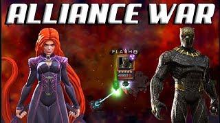 Alliance War | Medusa Debuff Mini |  Node 29 Thing | Marvel Contest of Champions