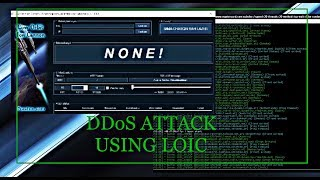 [Tutorial for NewBies] DDoS ATTACK WITH LOIC (TR ALTYAZILI)