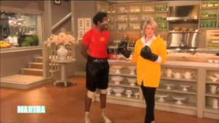 Jumping Rope, Pumping Fists⎢ Michael Olajide, Jr.⎢Martha Stewart