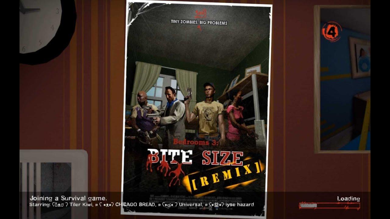 Left 4 Dead 2 Bedrooms 3 Bite Size Remix Survival