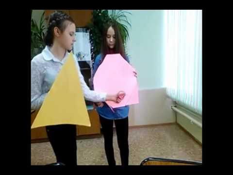 Сказка про Треугольника и Квадрата