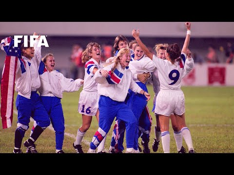 Women's World Cup FINAL  China 1991: Norway v. USA