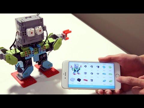 Dance, Jimu Robot, dance! (And teach me coding)