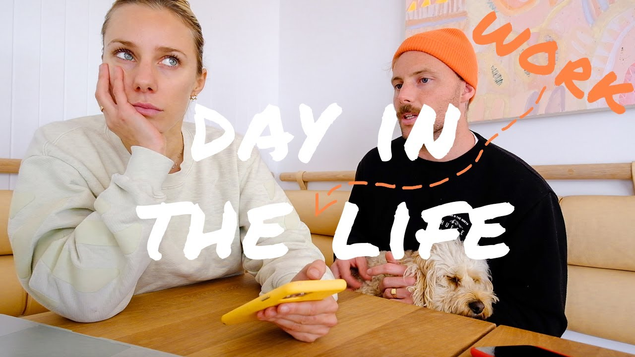 [VLOG] Day in the life of WORK!! How to be a YouTuber, Podcaster and run 3 Companies!!