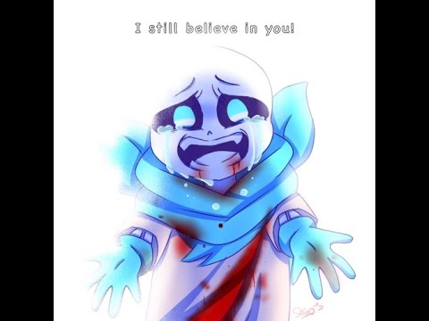 UnderSwap Sans BlueBerry Fight Unitale 6 GENOCIDE THE DAVE POLITE