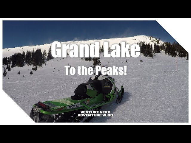 Grand Lake Snowmobiling Day 2