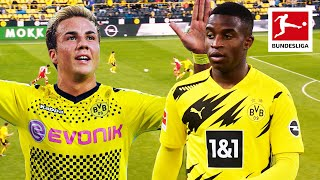 Top 10 Youngest Dortmund Players of All-Time - Moukoko, Götze, Sancho and More