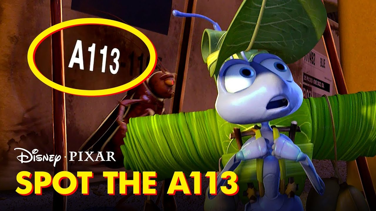 Pixar Did You Know: A113 | Disney•Pixar - YouTube