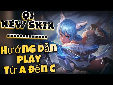 LIÊN QUÂN | Trải nghiệm Skin mới Qi Đặc Vụ Cáo Tuyết cùng FUNNY GAMING TV