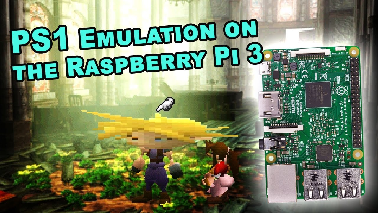 raspberry pi 3b psx emulation