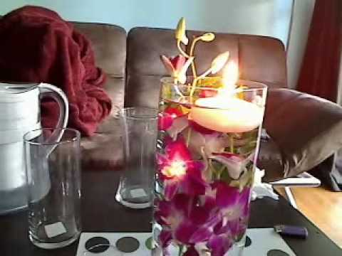 Inexpensive Wedding Centerpiece Under 25 Youtube