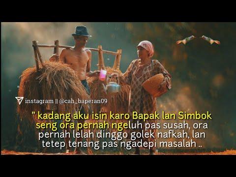 "Story Wa Terbaru 2019 "" Renungan Pagi / Kata Bijak Jawa "" 😢"