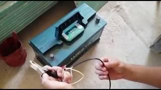 Переробка шуруповерта для роботи від акумулятора від автомобіля