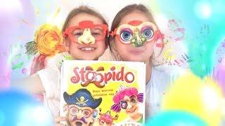 Игры для девочек!🎀🎉🎈 Настольная игра Stopido! Ксюша Алиса Соня! 👼👸👰 Видео для детей 4-10 лет!
