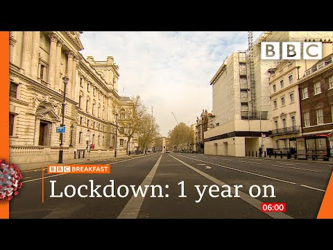 Covid: UK marks one year since the first lockdown @BBC News live 🔴 BBC