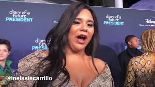 JESSICA MARIE GARCIA HOPES THIS YEAR LATINOS ARE NOT MISREPRESENTED IN HOLLYWOOD ANYMORE