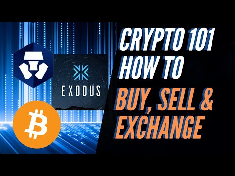 Investing In Crypto For Beginners Pt 2| How To Buy Sell Exchange Bitcoin