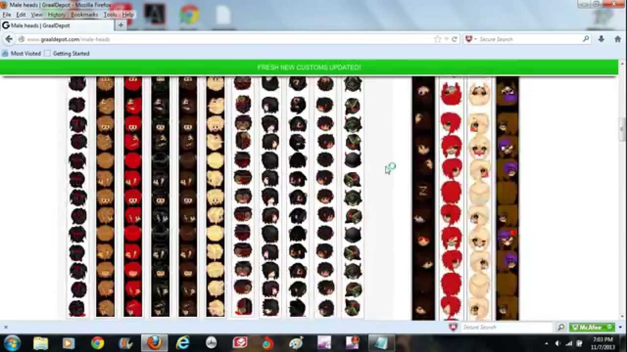 graal era how to make customs and how to upload them full tutorial youtube