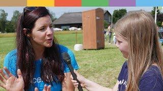 Unicef-botschafterin Tina Weirather Interview: Elina 9 , Die Reporterin