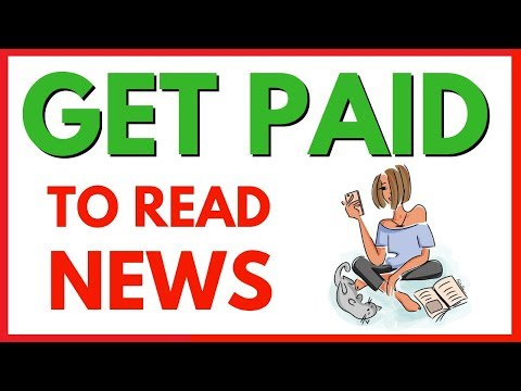 Get Paid To Read News 🔥🔥 You Can Make Money Reading News !😱!