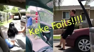 Keke challenge fails!!!! Turns to horribly.
