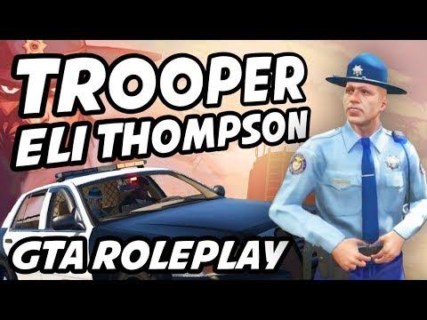Make Trooper Eli Thompson Best Clips | Ep. 1/2  | GTA Roleplay ft. Bayo, Shaggy, Dante, Avon, Ella Screenshots