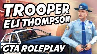 Trooper Eli Thompson Best Moments   GTA Roleplay ft. timmac, classypax, pmsproxy, Bayo, lirik