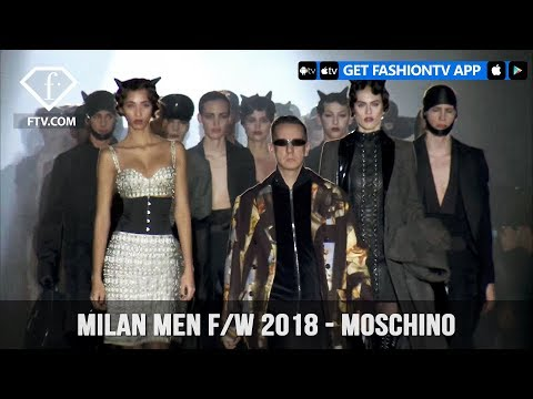 Moschino Milan Menswear Fashion Week with Mens Fall/Winter 2018 Collection | FashionTV | FTV