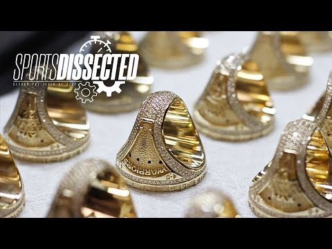 How An NBA CHAMPIONSHIP RING Is Made | Sports Dissected